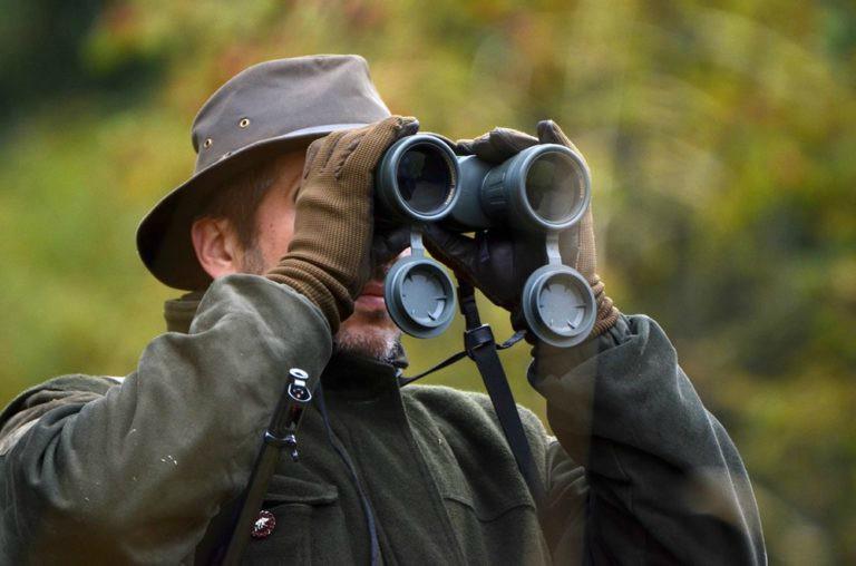 binocular Alivio ocular