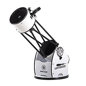 Revisión del telescopio Dobsonian Truss Tube de 12 pulgadas de Meade Instruments LightBridge